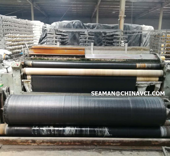 China Black Color Woven Geotextiles Geotextile Polypropylene