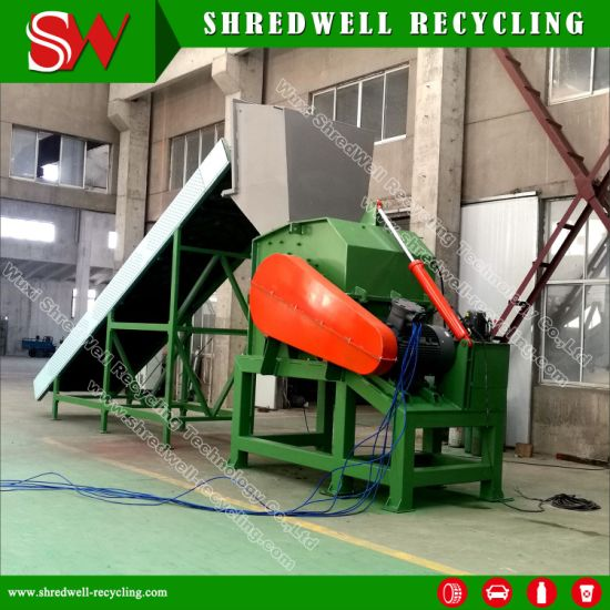 Waste Plastic Bottle/Film/Lamp/Wood/Sheet/Glass/Metal Crusher pictures & photos