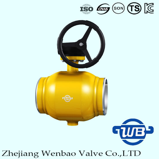 Standard All -Welding Trunnion Mounted Ball Valve for Gas pictures & photos