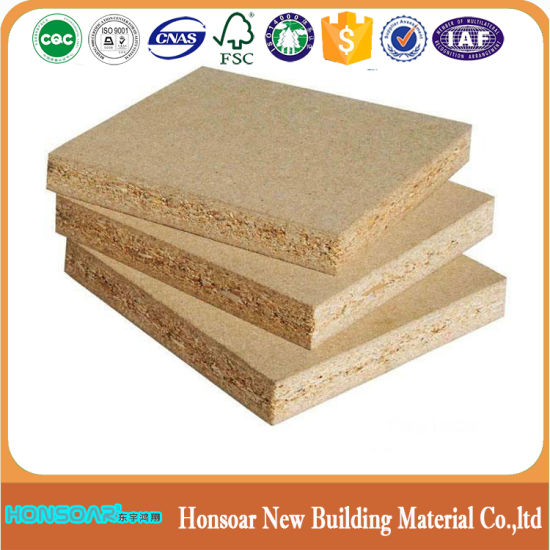 Cheap Price High Quality Melamine PVC Edge Veneer Laminated Particle Board for Cabinet Doors/Furniture