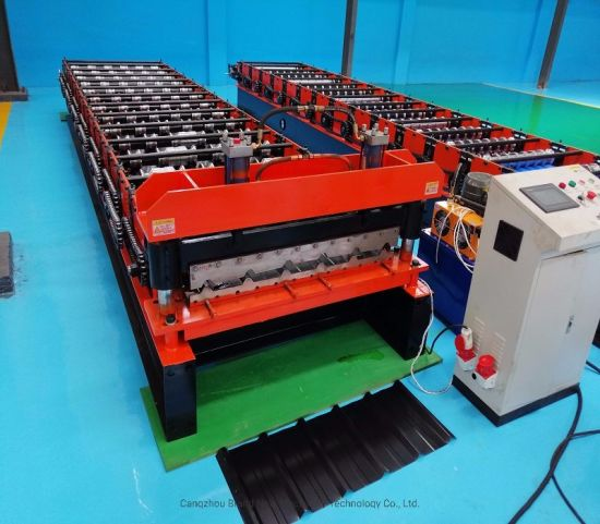 Trapezodial Sheet Roll Forming Machine