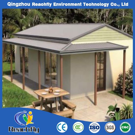 Heat Sound Insulated EPS Cement Sandwich Panel Prefab House for Vacation  and Leisure