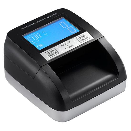 2019 Professional Automatic Portable Paper Money Detector, Banknote Detector, Bill Detector, Bank Money Counterfeit Detector Fake Money Detector