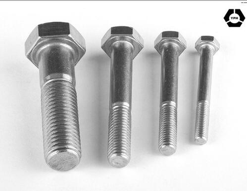 DIN931 Hexagon Head Bolts with Stainless Steel pictures & photos