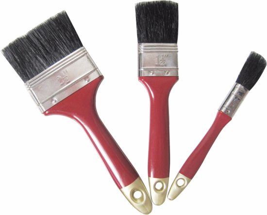 3 PCS Red Handle Paint Brush Sets pictures & photos