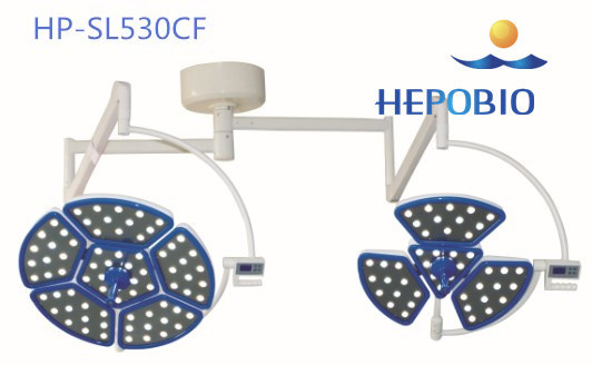 Big Brand Hepo Medical China Operating Room Lighting Surgical Head Lamp Roof Type LED Operating Lamp of Bottom Price pictures & photos