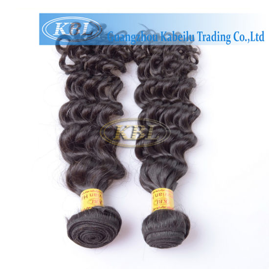 Hot Sale Peruvian Hair Extensions Double Drawn pictures & photos