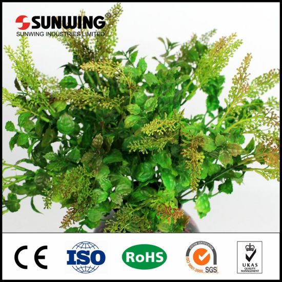 china best selling decorative artificial foliage panel wall - china