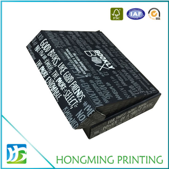 Corrugated Cardboard Black Shipping Boxes for Clothes