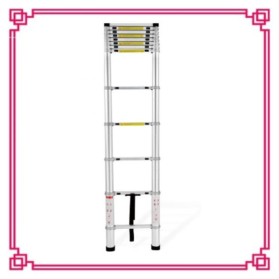 3.8m Wide Step Aluminum Telescopic Ladder pictures & photos