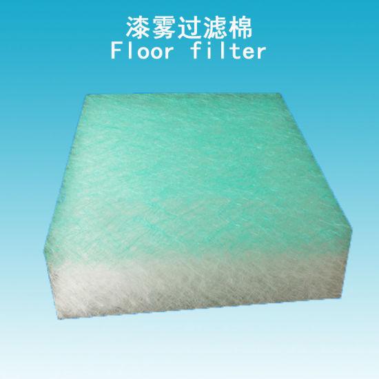 China Fiberglass Air Filter Paint Dust Floor Filter for Car