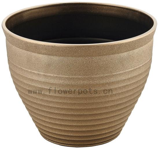 Metal Texture Flower Pot (KD9452K-KD9454K)