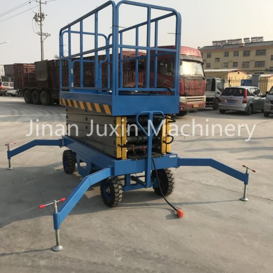 Hydraulic Electric Semi Scissor Lift