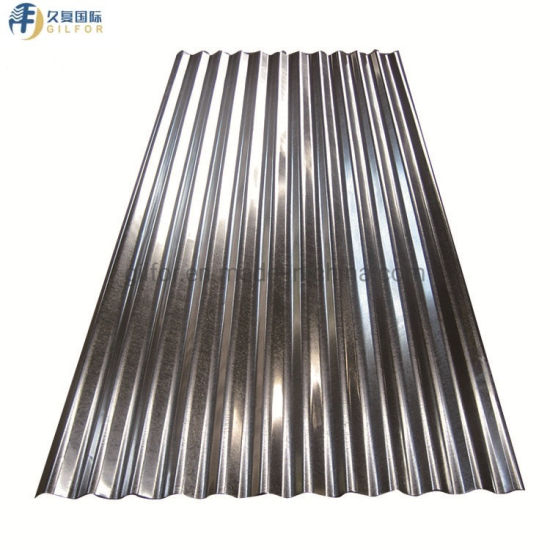 Building Material Hot Dipped Galvanized Corrugated Gi Roofing Steel Sheet