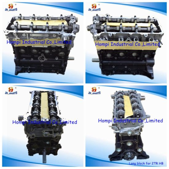 China New Auto Engine Long Block for Toyota 2tr 2kd/3y/4y