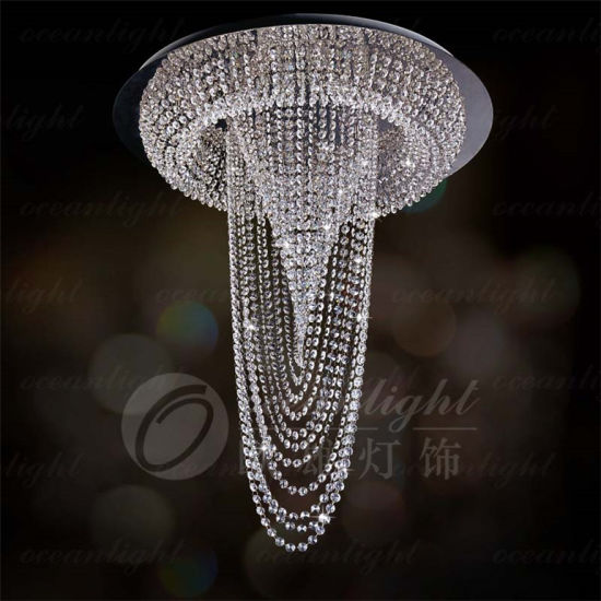 Modern Pendant Crystal Light Decorative Hanging Pendant Light Om756-35 pictures & photos