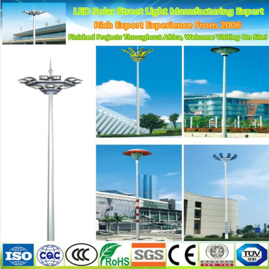 30m LED Working High Pole Street Lighting Lamp