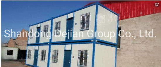 Factory Made Light Steel Shipping Container House for Site Office