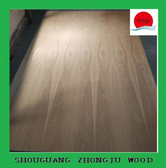 China Ash Wood Veneered Mdf Board For Furniture Making