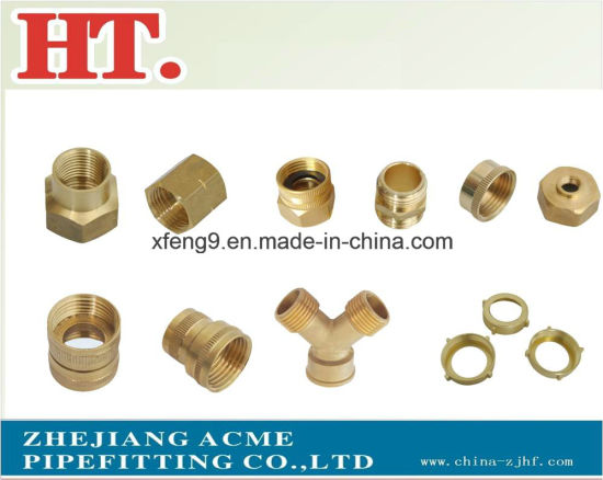 Brass Male Hose Barb Adapter Fitting (1*3/4) pictures & photos
