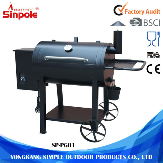 Outdoor Charcoal Grill Electric Barbecue Maker With Smoke Extractor Pictures Photos