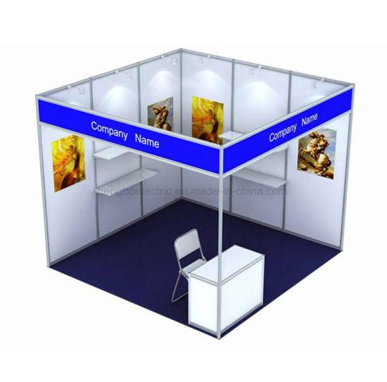 3*3*2.5m Octanorm System Standard Modular Aluminum Exhibition Booth