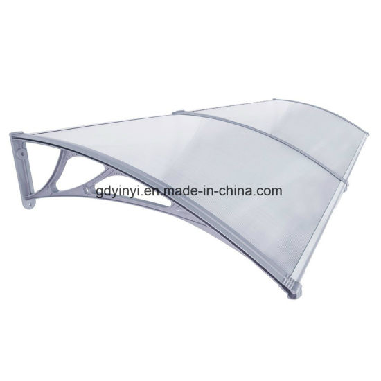 China Durable Polycarbonate Awning Wall Mount Bracket Used Awnings
