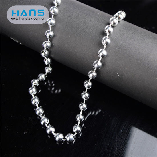 Hans Cheap Price Loose Plastic Beads String