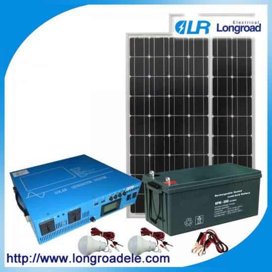 Home Power Solar, Solar Power System for Small Home pictures & photos