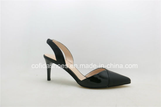 747b1a878800e New Trendy Kitten Heel Lady Shoes for Sweet Ladies pictures & photos