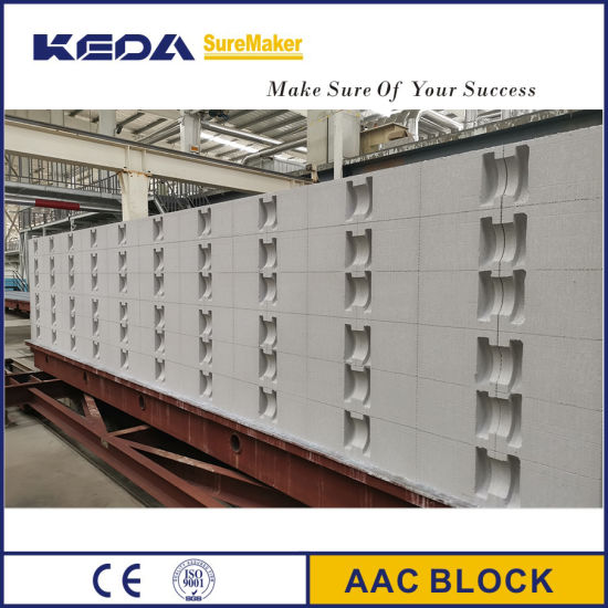 Automatic AAC Brick/Block Making Machine for Building Material