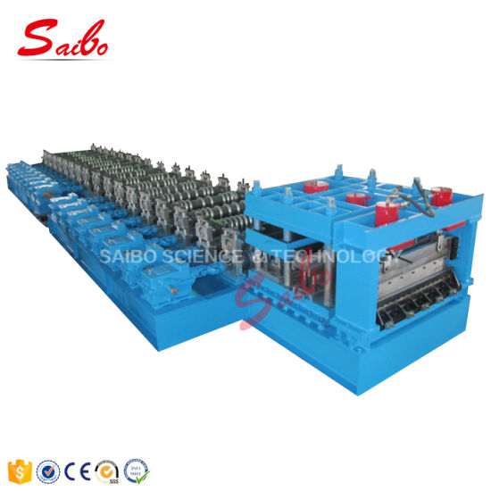 Automatic Metal Galvanized Steel Silo Cold Roll Forming Machinery