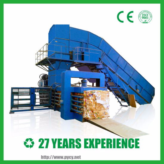 Fully Automatic Baling Machine Commissioning in Waste Paper Plant