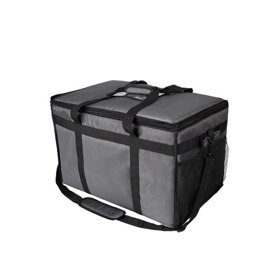 Insulated Food Delivery Bag, Cooler Bag, Extra Large Insulated Grocery Bags for Hot and Cold Grocery Shopping, Insulated Bag