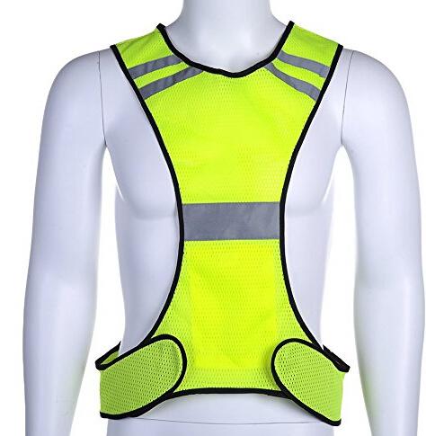 2020 Hot Sales Traffic Safety Vest Sport Elastic Vest Running Vest Walking Vest