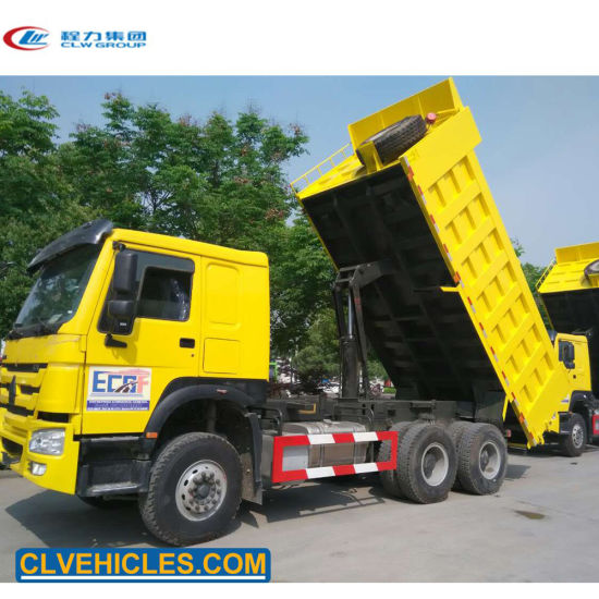 China Sinotruk Howo 371 Price 6x4 20 Ton 10 Wheel Ghana Dump Truck Tipper Truck China Tipper Truck Dump Truck