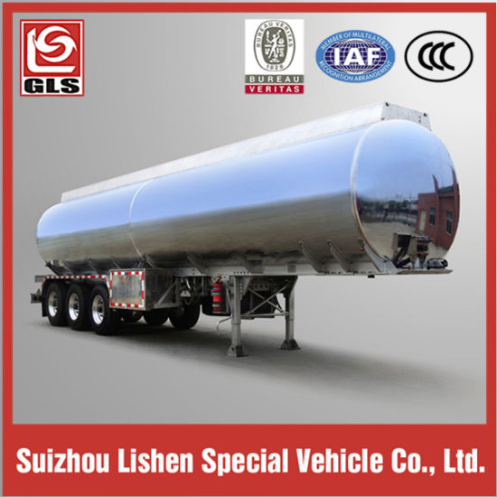 42000L Stainless Steel 316L Tank Semi Trailer for Syrup Delivery pictures & photos