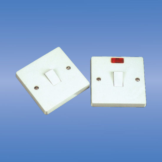 China 20amp 1 Gang Double Pole Switch With Neon - China Light Switch ...