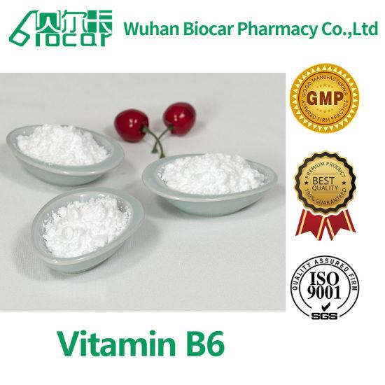 99.6% High Purity Vitamin B6 (CAS: 8059-24-3)