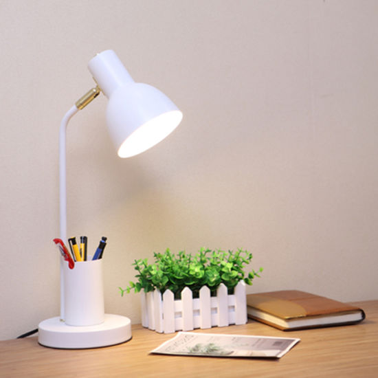 Desk Reading Light with Pen Box for Boys and Girls Bedroom Decoration