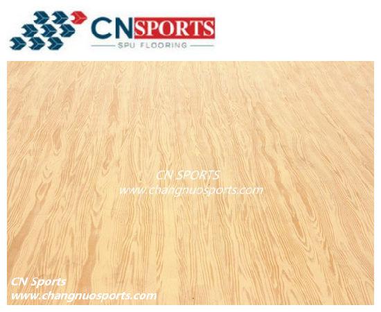 Innovation Wood Grain Basktaball Court