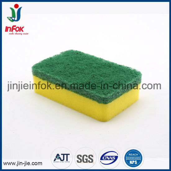 (YF-SP020) Hvavy-Duty Sponge Scourer pictures & photos