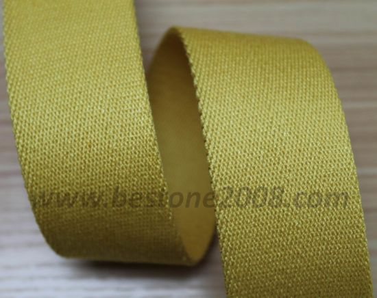 High Quality Spun Polyester Twill Webbing Strap for Bag#1401-23