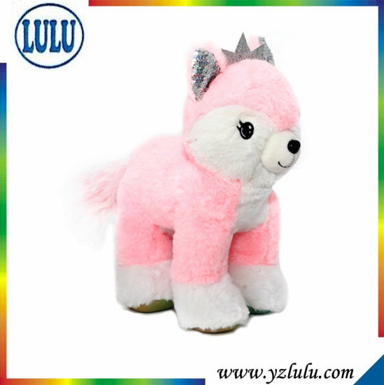 Pink Plush Toy Little Girl Favourite Stuffed Toy