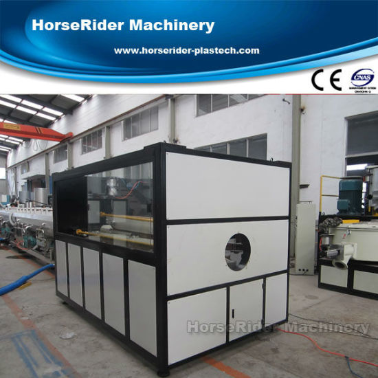 PE Water Supply Pipe Extruder Extrusion Machinery Line