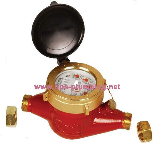 Brass Multi Jet Water Meter