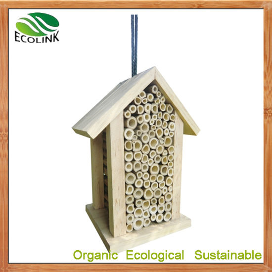 Natural Bamboo Insect Home Nest Mason Bee House pictures & photos