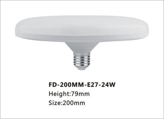Factory Direct Sales New Product 18W 24W Light Plastic Housing LED Bulb UFO Lamp