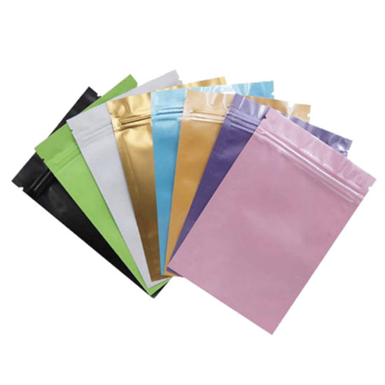 Custom Airtight Aluminum Foil Laminated Plastic Weed Packaging Smell Proof Bags
