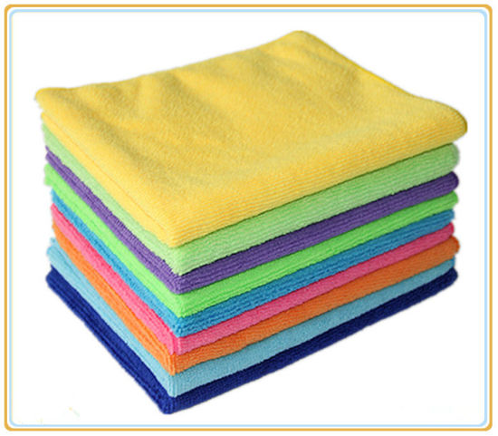Super Absorbent Microfiber Towel pictures & photos